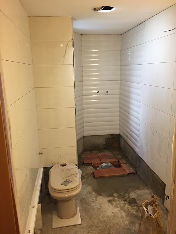 reforma baño calle almeria completa