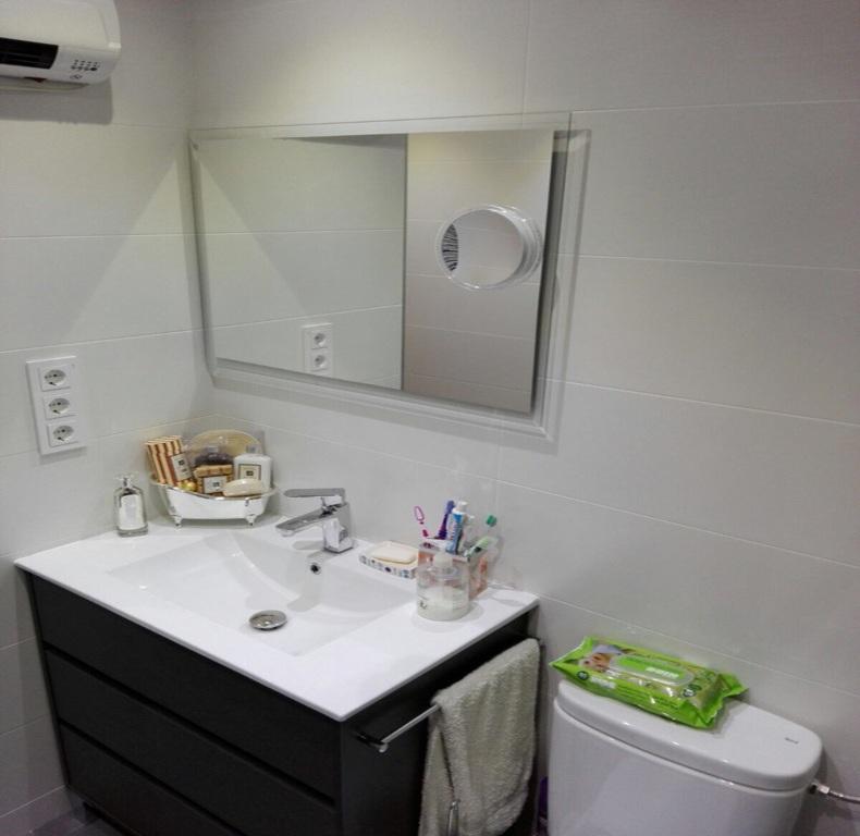 reforma completa baño acabada calla teide 10