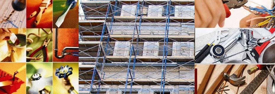 Rehabilitación de fachadas, electricidad, fontanería...
